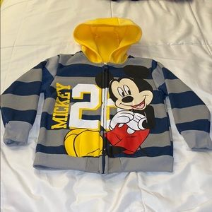 Disney Mickey Mouse zip up hoodie